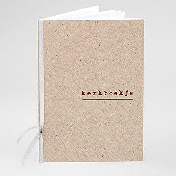 Boekomslag voor kerkboekje Authentiek