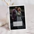 Bedankkaartjes Bruiloft met Foto Kinfolk Style