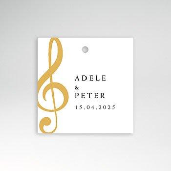 Etiket huwelijk Muziek