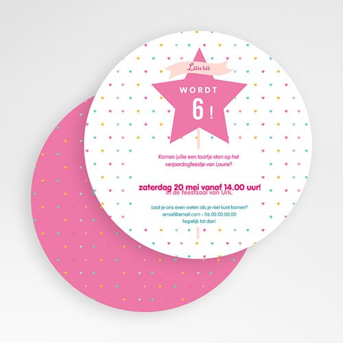 Uitnodigingen Verjaardag Meisje Princesse gratuit