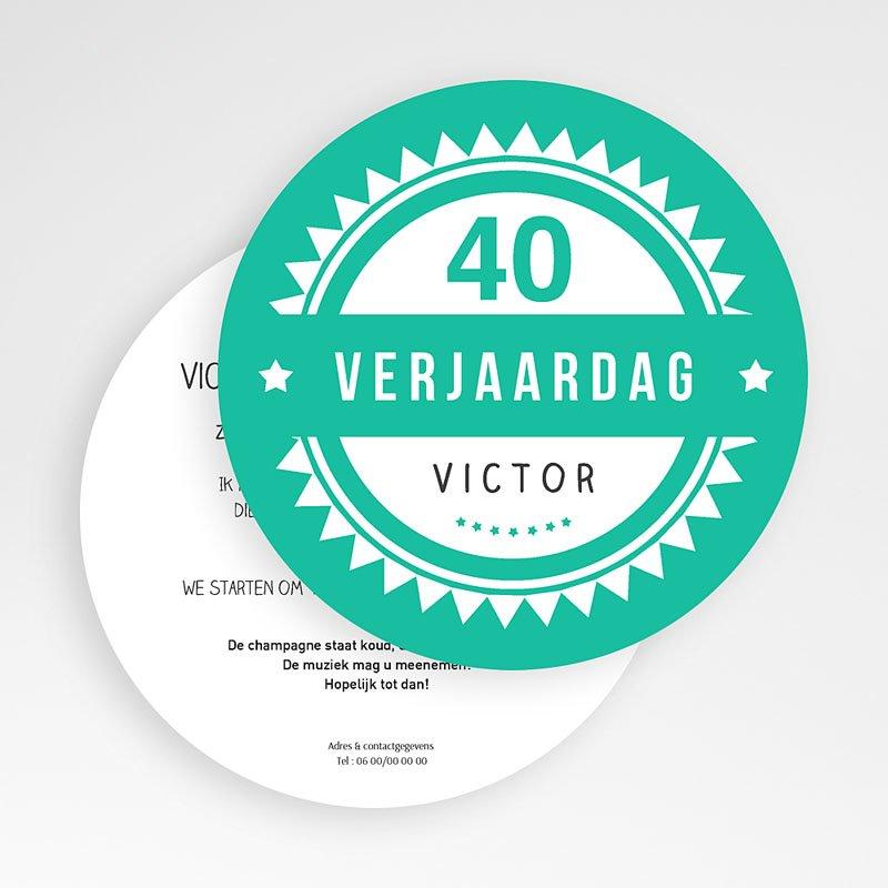 Meerderjarig Uitnodigingen Verjaardag Vintage Green gratuit