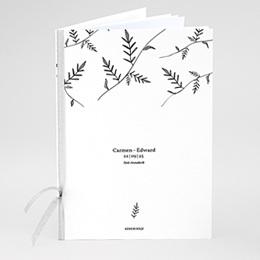 Boekomslag voor kerkboekje Kraft en takjes