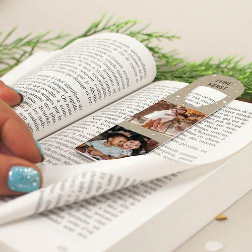 Boekenlegger Foto-personaliseerbaar cadeau/object gratuit