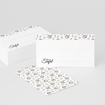 Tafelkaartjes huwelijk Millefiori