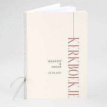 Boekomslag voor kerkboekje Perfecte unie