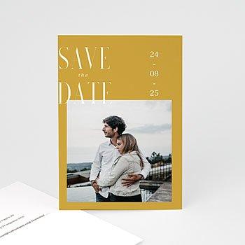Save the date kaartjes Perfecte unie