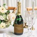 Champagne Flesetiketten Bruiloft Mooie planten gratuit