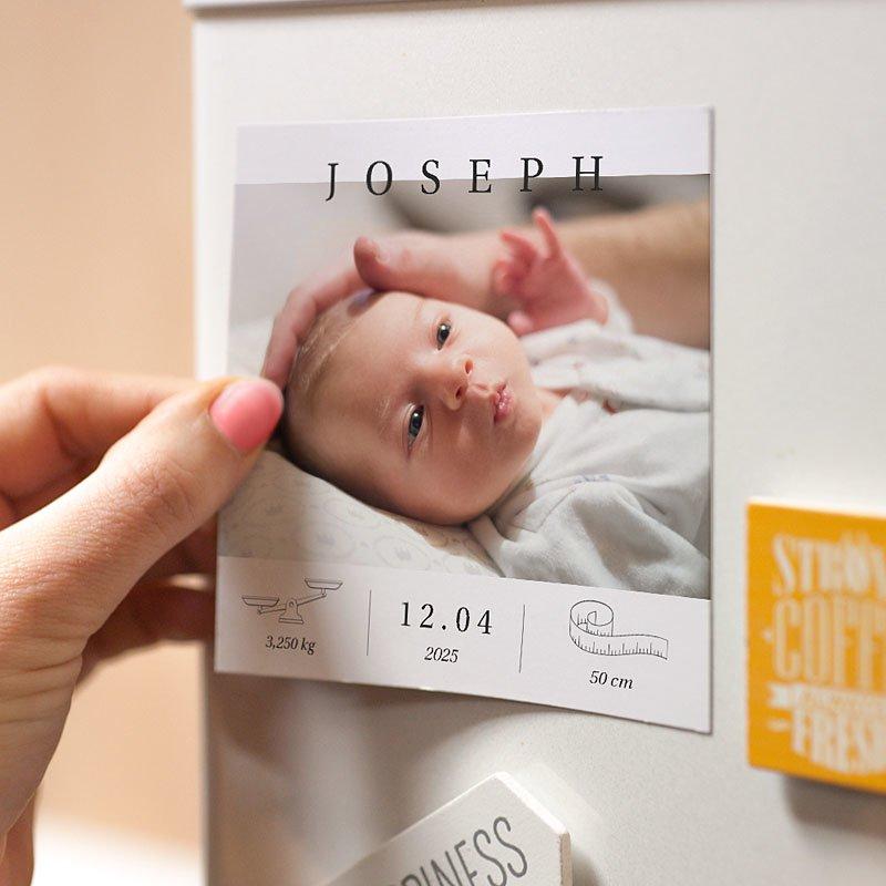 Magneet Geboortekaartjes Exclusief pas cher
