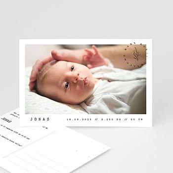 Geboortekaartje meisje Ansichtkaart baby
