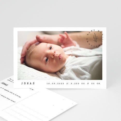 Geboortekaartjes Meisje Ansichtkaart baby