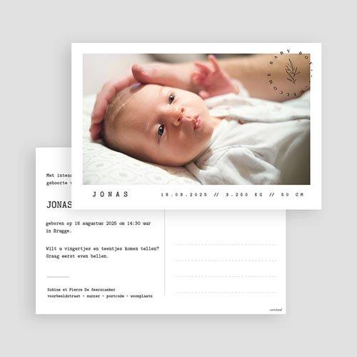 Geboortekaartjes Meisje Ansichtkaart baby gratuit