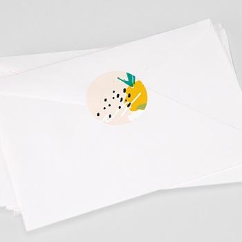 Stickers Geboorte Ananas Art