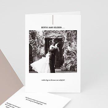 Jubileumkaarten huwelijk Parelhuwelijk - 30 jaar