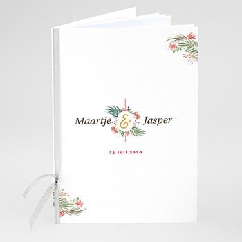 Boekomslag voor kerkboekje Tropische & Gouden Krans
