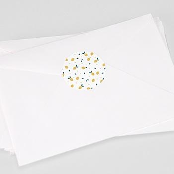 Stickers Geboorte Precious Lemon