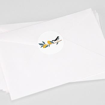 Stickers Geboorte Zomerjurkje
