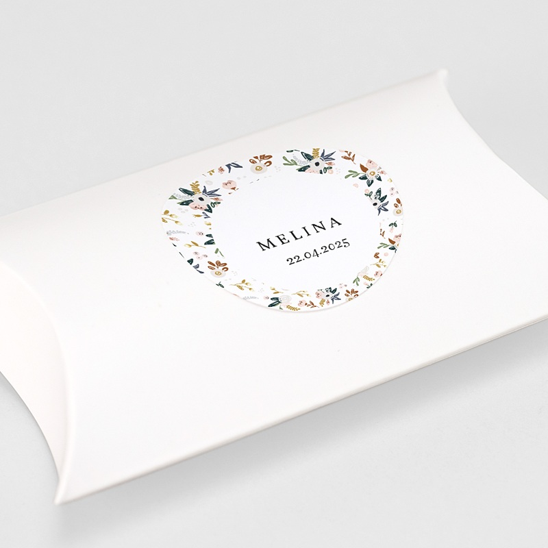 Sticker Geboorte Duizend bloemen gratuit