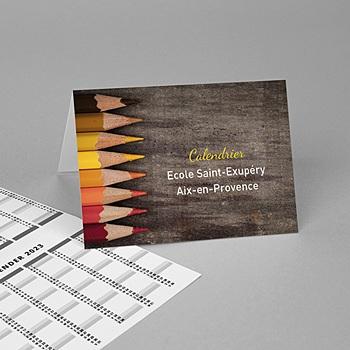 Zakkalender - Crayons - 0