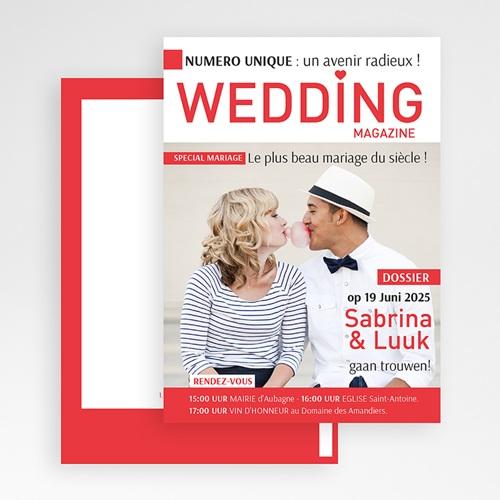 Trouwkaarten Wedding Magazine gratuit