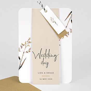 Landelijke trouwkaarten Mooie twijgen