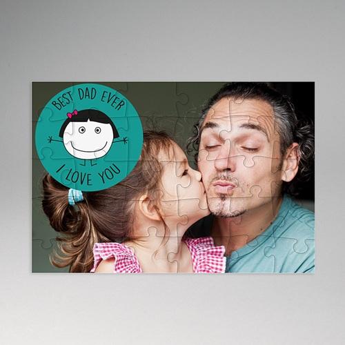 Gepersonaliseerde Fotopuzzel Puzzle Daddy