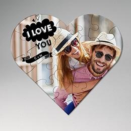 Gepersonaliseerde Fotopuzzel - Je t'aime - 0