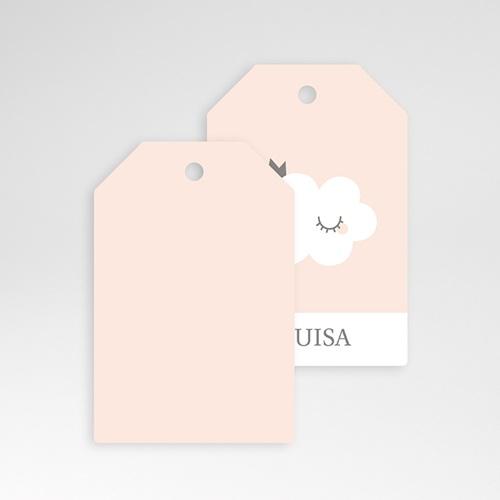 Geschenk Etiket Geboorte Little Cloud, 6 cm x 4 cm pas cher