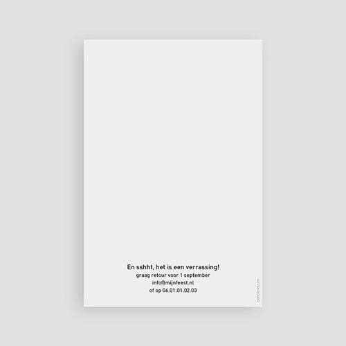 Meerderjarig Uitnodigingen Verjaardag Cijfers 40, foto's, 10 x 15 cm pas cher