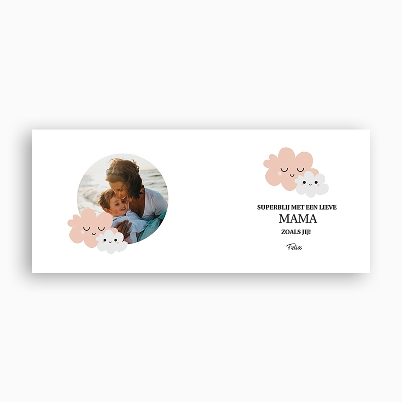 Gepersonaliseerde Fotomokken Moederdag Maman d'Amour pas cher