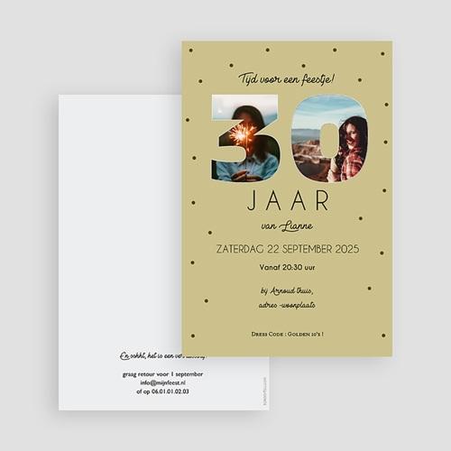 30 Jaar Oud Uitnodigingen Verjaardag Cijfers 30, foto's, 10 x 15 cm gratuit