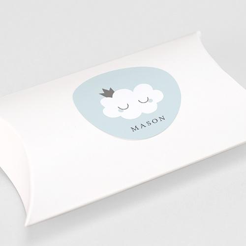 Sticker Geboorte Liittle Cloud Blue, 4,5 cm gratuit