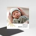 Bedankkaartjes Geboorte Magneet Goudtakje, 1 Foto