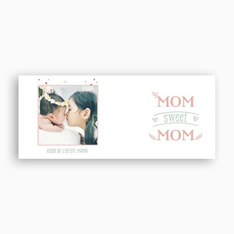 Gepersonaliseerde Fotomokken Moederdag Mom sweet MOM, 1 foto pas cher