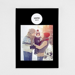 Fotoboeken A4 Staand - black is back - 0
