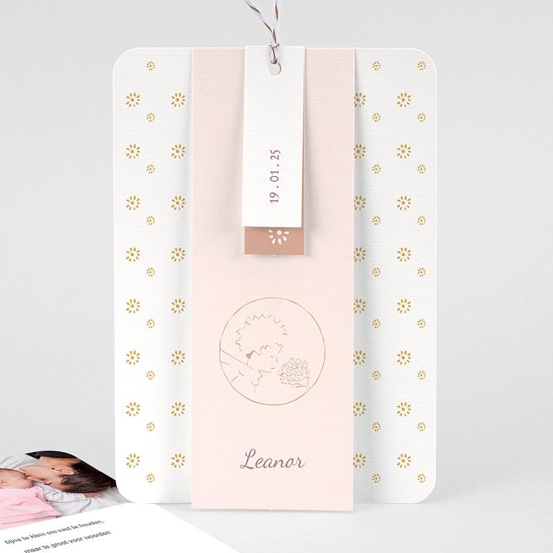 Geboortekaartjes De Kleine Prins De roos van de kleine prins, 3 Labeltjes