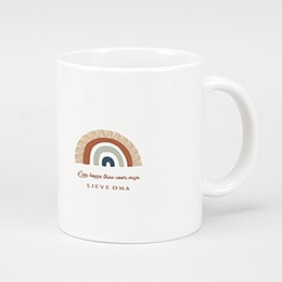 Gepersonaliseerde Fotomokken Kerst - Rainbow Wish, Mug - 0