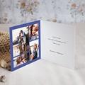 Gelukkig Nieuwjaarskaart Majorelle Blauw, Gouden Kroon pas cher