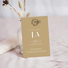 Uitnodigingen - Cocktail & Receptie, Wedding Pass - 0