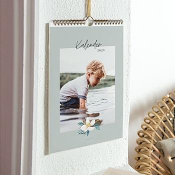 Muurkalender - Wandkalender, grote foto, maand als beginletter - 0