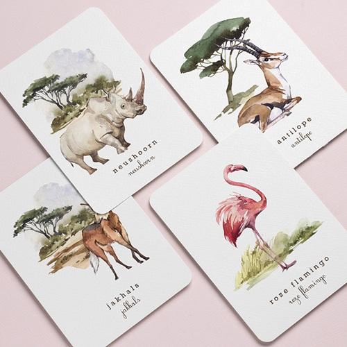 Stationery Afrikaanse wildernis