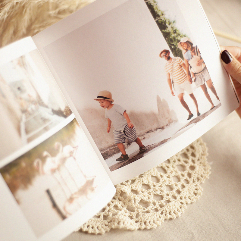 Natuurlijk vierkant fotoboek Natuur, vierkant, 20 x 20 cm pas cher