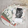 Kladblokjes Reissouvenir, oker & goud, A5 softcover gratuit