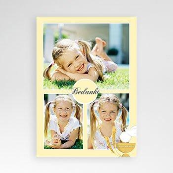 Bedankkaart communie meisje - Geïllustreerde communie - 1