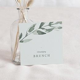 Uitnodigingen - Planten kader, Brunch - 0