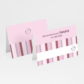 Plaatskaartjes Communie - Snoeproze communie - 1