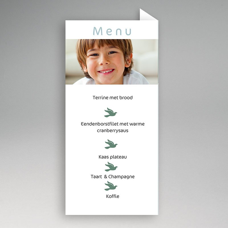 Menukaart communieviering - Communieviering staand 9946 thumb