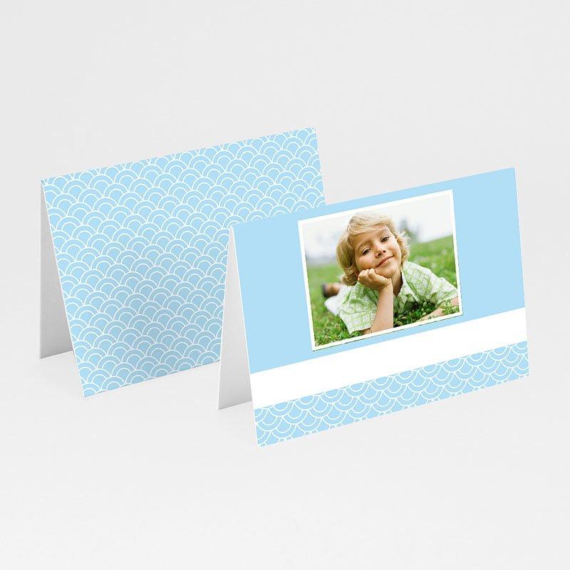 Plaatskaartjes Communie - Communieviering lichtblauw 9959 thumb