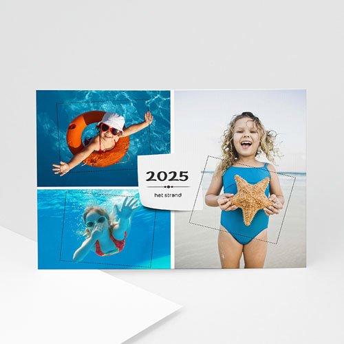 Multi fotokaarten, meerdere foto's - Drie foto's vakantiegroet 9967 thumb