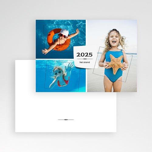 Multi fotokaarten, meerdere foto's - Drie foto's vakantiegroet 9968 thumb
