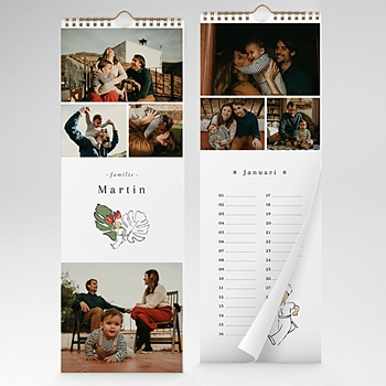 Fotokalender De Kleine Prins - In de tropen, 14,8 x 42 cm - 0